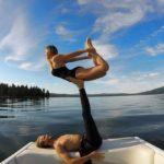 The Yoga Couple of Las Vegas, Nevada
